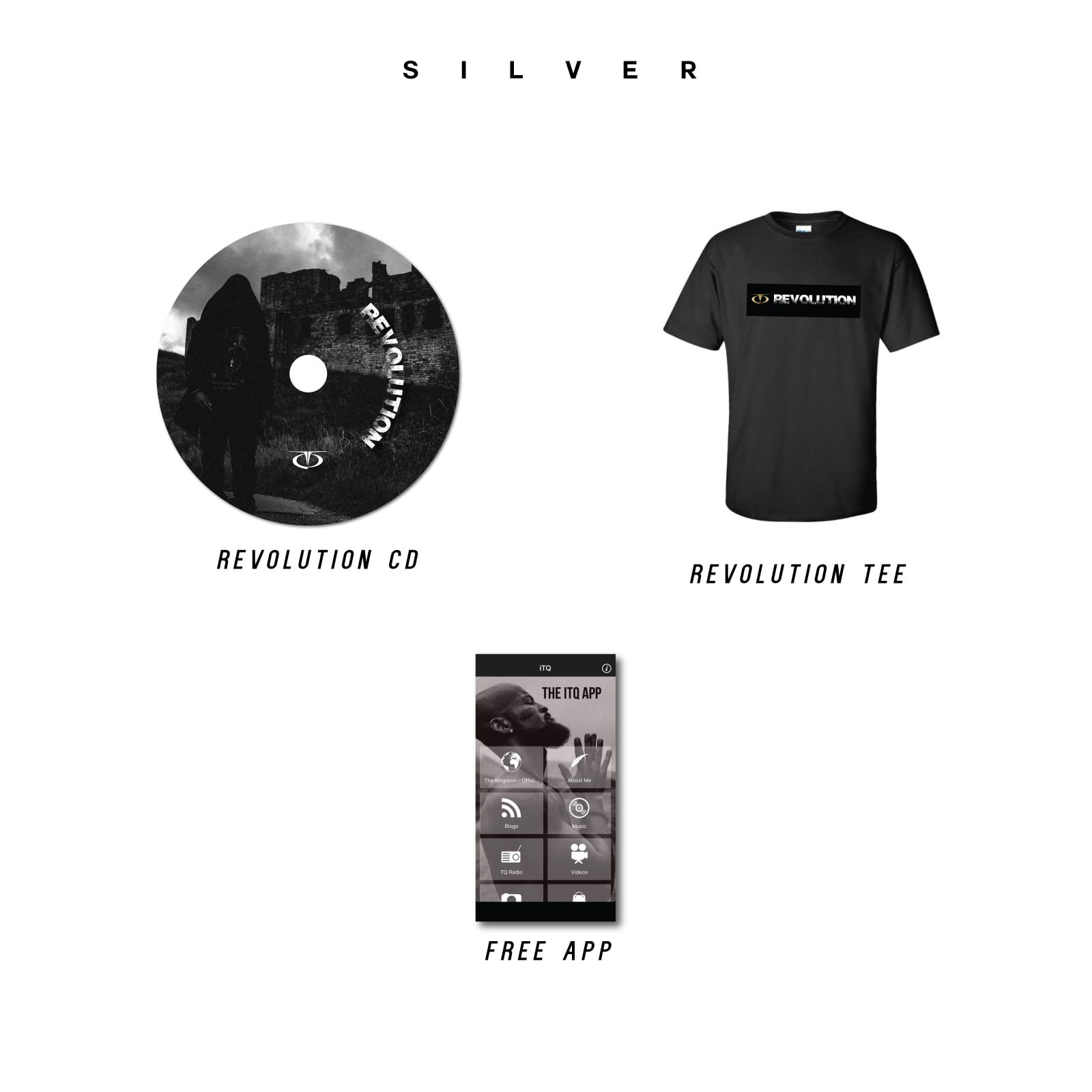 TQ store - Revolution Silver Bundle
